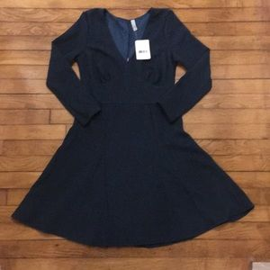 Three people teal dress size medium